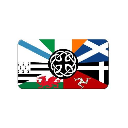 Celt Irish Ireland Pan-Celtic Nation Flags - Metal Lapel Hat Pin Tie Tack