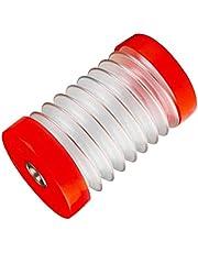 Hainice Elektryczny młotek osłona przeciwpyłowa sprężyna teleskopowa plastikowa wiertarka udarowa odkurzacz 460 mm czerwony