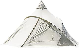 YZDKJDZ Torn post klocka tält, mysigt hus utomhus vattentätt, tipi-tält för vuxna 4–6 personer familj campingtält, dubbell...