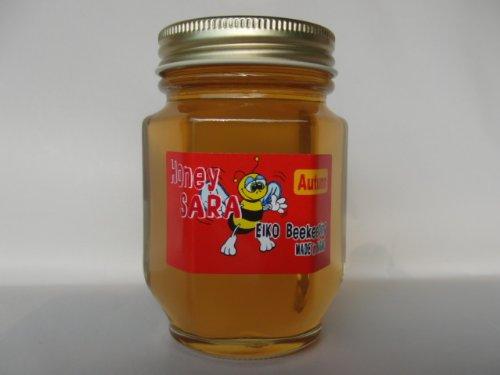 秋の百花蜂蜜 180g 純粋 国産 生 はちみつ 非加熱 非加糖 長野県産 信州産