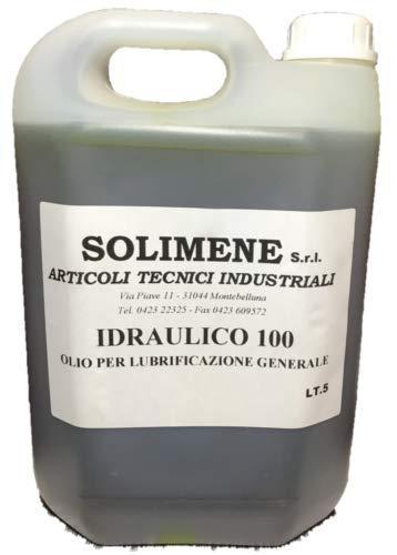 Aceite hidráulico ISO VG 100 HM de alta calidad con antiespuma, 5 litros