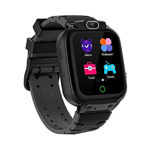 Vannico Orologio Intelligente per Bambini, kids Smartwatch con HD Fotocamera Digitale, Video, Giochi, Lettore Musicale, Registrazione, Cronometro, Reg