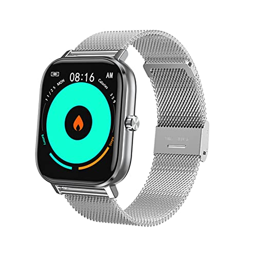 Monitoreo De ECG De Hombres Smart Watch Y Women's IP67 Responsable Bluetooth Call Health and Sleep Management Aplicable A Android iOS,A
