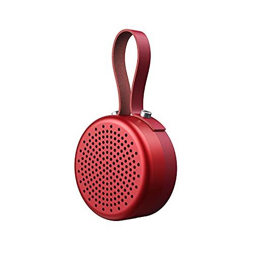 BMDHA Altavoz Bluetooth Potente, PortáTil, Altavoces Altavoz De Subgraves Altavoces Bluetooth InaláMbrica Bluetooth Altavoz De Subgraves Escritorio Radiio FM Sencillez Metal