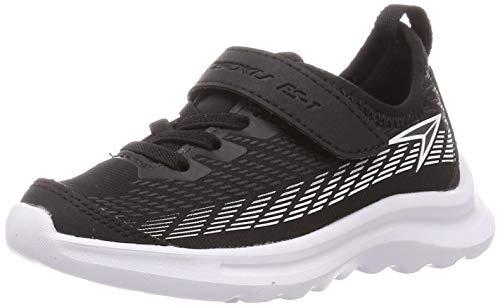 [シュンソク] スニーカー 運動靴 軽量 16~23cm 2E キッズ 男の子 女の子 SJJ 8670 ブラック 21 cm
