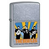Silver Matte Finish Dated 2007 The Beatles license on Zippos only lasts two years on any particular style. Now retired Fully licensed product