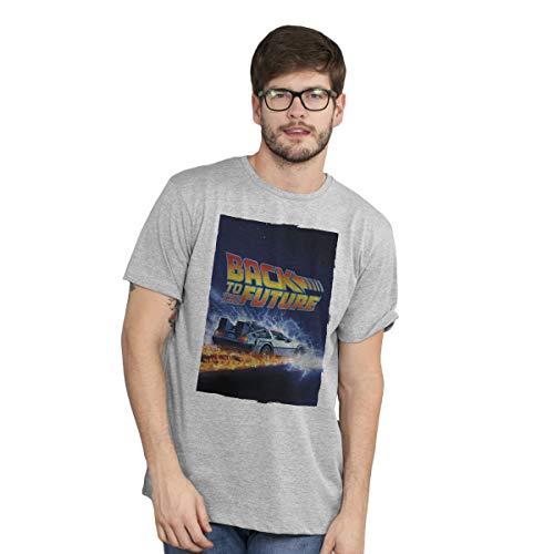 Camiseta De Volta Para o Futuro Delorean Masculina (GG)