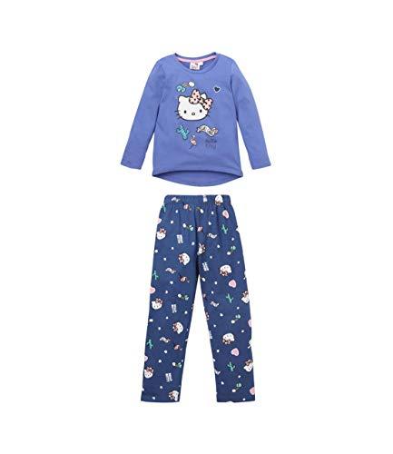 Hello Kitty Pyjama Violett (128)