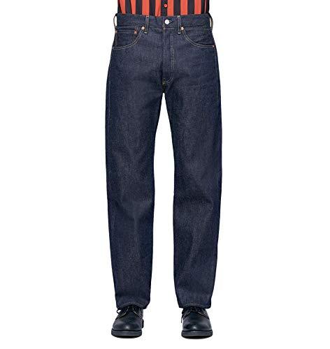 Levi 's Vintage Clothing Jeans 501 van 1955 van vaste stof 50155-0055 Rigid A9264 V2 donkerblauw