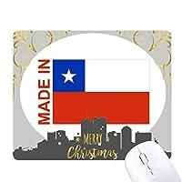 チリの国が好きで クリスマスイブのゴムマウスパッド