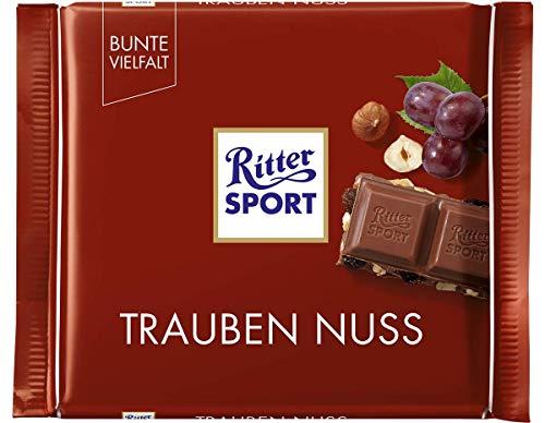 Ritter Sport Trauben Nuss, 12 x 100 g