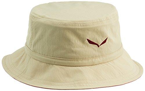 Salewa Kinder Sun Protect Brimmed Cap Kappen, Sand/Allover, M/53