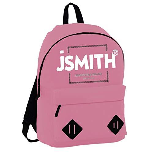 John Smith M20203 Mochila, Unisex niños, Rosa, Talla Única