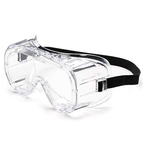 UNIVET 602.01.00.01 cm No.602 - Gafas de seguridad (cristal UC, transparente) 🔥