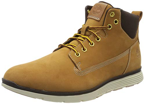 Timberland Killington, Sneakers Montantes Homme, Jaune Wheat Nubuck, 44 EU