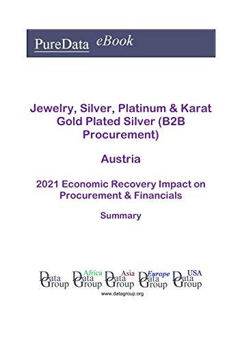 Jewelry, Silver, Platinum & Karat Gold Plated Silver (B2B Procurement) Austria Summary: 2021 Economic Recovery Impact on Revenues & Financials (English Edition)