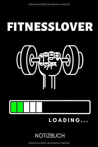 FITNESSLOVER LOADING... NOTIZBUCH: A5 TASCHENKALENDER   Trainingsbuch   Trainingstagebuch   Fitness Planer   Nützliche Geschenke für Männer   Krafttraining   Bodybuilding   Kalender