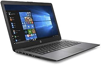 2019 HP Stream Laptop 14inch, Intel Celeron N4000, Intel UHD Graphics 600, 4GB SDRAM, 32GB SSD, HDMI, Win10, 14-cb164wm Brilliant Black (Renewed)