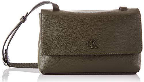 Calvin Klein Damen Crossovers, Olive Night, One Size