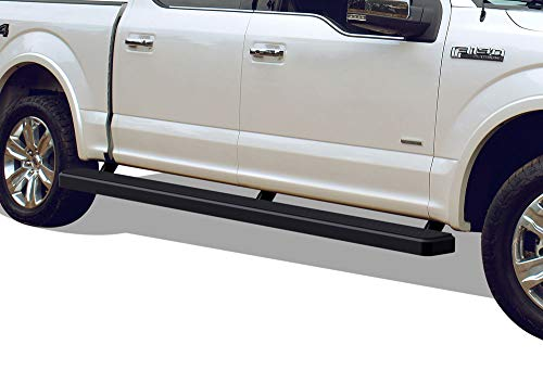 APS Wheel to Wheel iBoard 5 inches Custom Fit 2015-2020 Ford F150 SuperCrew Cab 5.5ft Bed Pickup 4-Door & 2017-2020 Ford F-250 F-350 Super Duty Crew Cab (Nerf Bars Side Steps Side Bars)