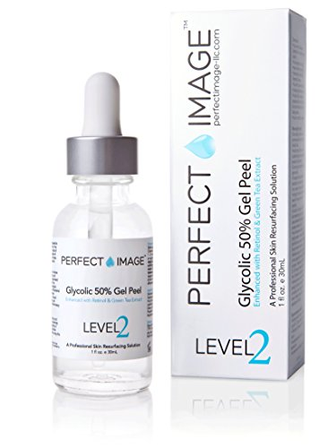 Glycolic Acid 50% Gel Peel - Enhanced with Retinol & Green Tea Extract (Professional Skin Peel)1 ounce
