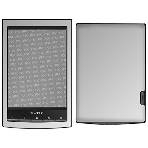 atFolix Skin kompatibel mit Sony PRS-T1 Reader, Designfolie Sticker (FX-Chrome-Soft-Silver), Verchromt/Chrom/Glanz-Effekt