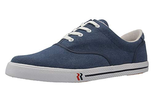 Romika Unisex-Erwachsene Soling Bootsschuhe, Blau (jeans), 48 EU