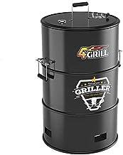 4Grill Barrel BBQ Black