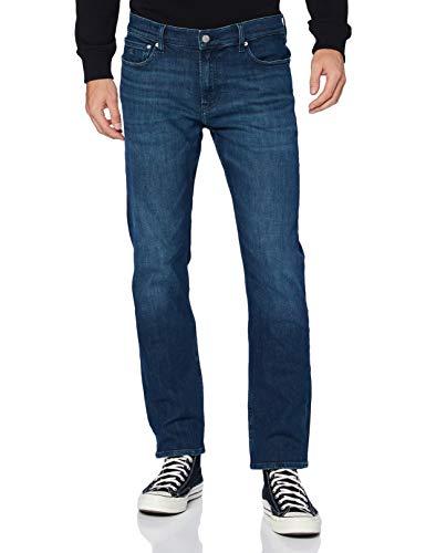 Calvin Klein Ckj 035 Straight Pantaloni, Bb045/Dark Blue, 34W / 32L Uomo