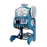 自作工具 ミニアイスクラッシャー家庭用電気製氷機スノーフレーク製氷機製氷機 握り込みやすい (Color : Sky Blue, Production Capacity : 180Kg/H)