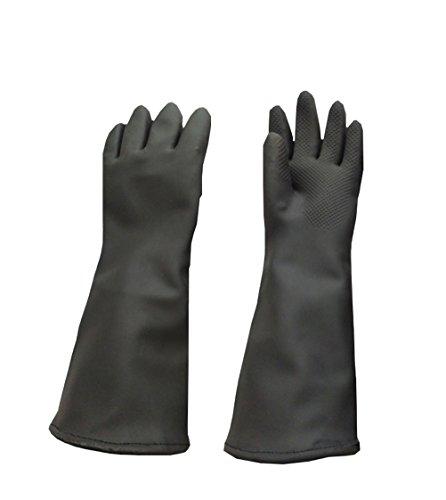 Animals Bathing Handhabung Handschuhe Verdickt Anti-Biss/Kratzschutz Gauntlet Für Hund Katze, Lang 45Cm