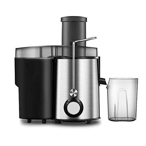 FREELX Elettrico Spremiagrumi Acciaio Inossidabile Juicer Verdura e Frutta Frullatore Smoothie juicer Mixer frullatore Casa Tritatutto 1000ML per Shake Salse Pappe Bimbi,Argento