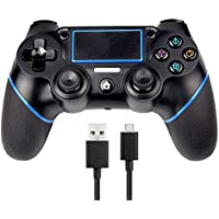 Sades PS4 Controller Sades Wireless Controller for Playstation 4 with Dual Vibration, Include USB Cable