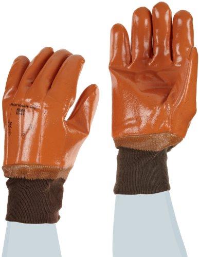 Ansell Winter Monkey Grip 23-191 Guanto per Usi Speciali, Protezione Meccanica, Marrone, Taglia 10 (Sacchetto di 12 Paia)