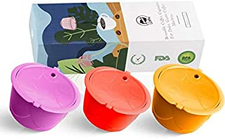 Herbruikbare Dolci Gusto Coffee Capsule 3e Two Color Plastic Hervulbare Dolce Gusto Fit voor Nescafe Koffiezetapparaat (Fa...