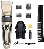 Profesionales cortar el pelo de pelo máquina de corte Hombres / Niños / Peluquería y estética cortador Kit / bebé, corte de pelo recargable Trimmer Set, a prueba de agua del corte de pelo Peluquería T