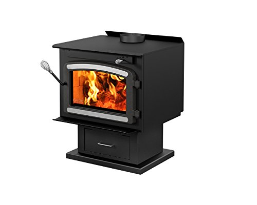 Drolet Classic Wood Stove with Blower - 75,000 BTU, EPA-Certified, Model# DB03081