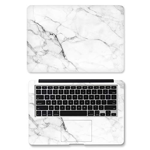 HUATULAI Vinilos para portátil Skin Adhesivo Universal De Mármol De Doble Cara para Ordenador Portátil para Macbook/HP/Acer/DELL/ASUS/Lenovo Notebook Decorativo