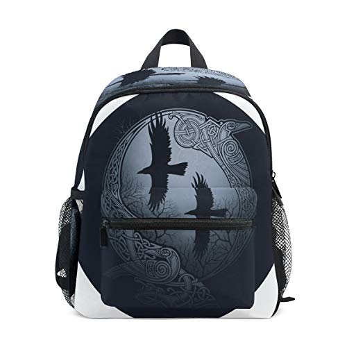 Mini mochila para niños de gato de boxeo preescolar, bolsa para niños, Cuervo Celta 4 (Multicolor) - A01E18011-A