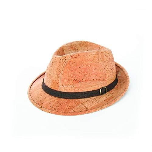 Biocorghero - Sombrero Pork Pie de corcho mod. Jazz beige 60