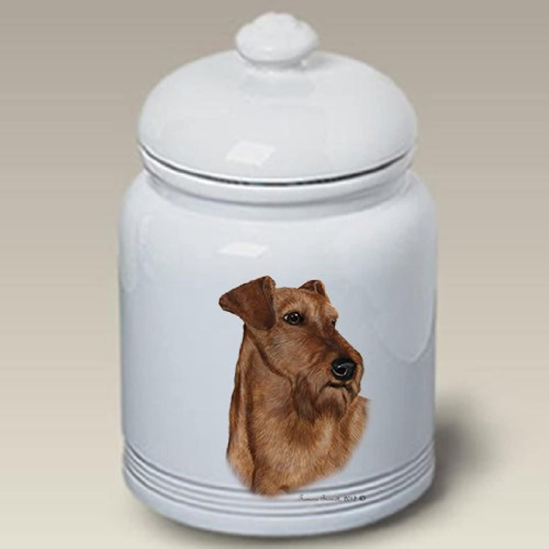 Irish Terrier  Tamara Burnett Treat Jars