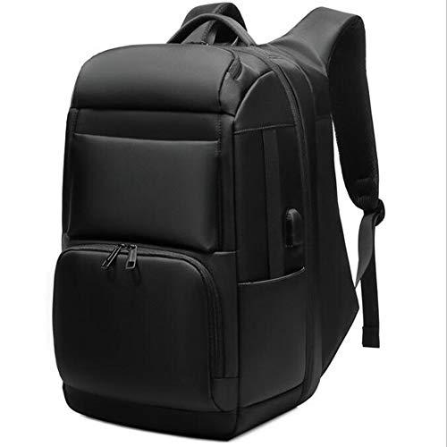 多機能ラップトップBackpack17インチファッションスクールコンピューターバックパック撥水加工ナイロンカジュアルデイパック旅行/ビジネス/大学/女性/メンズブラック