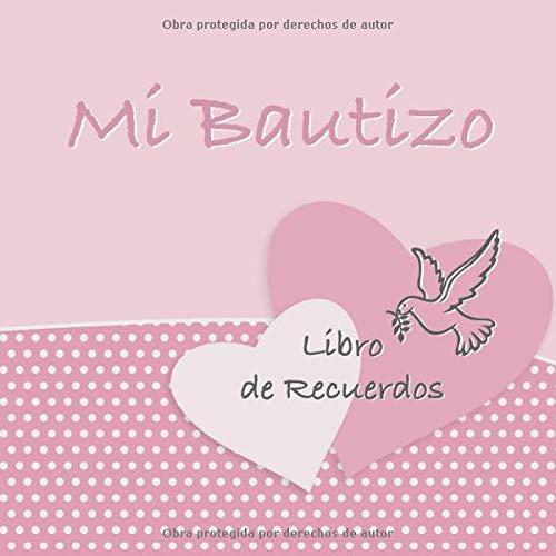 Mi Bautizo: Libro de Firmas, Recuerdos y Consejos a los Padres I Vintage Pigeon Rosa I Para 50 personas I Para Deseos escritos y las Fotos más bellas I Idea de regalo para el bautizo de niños y niñas