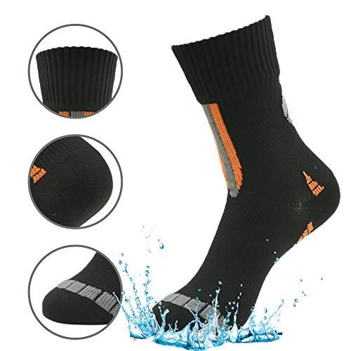 Mud Sports Socks, RANDY SUN Mens' Performance Mid-calf Waterproof Sock In Snow Sports Size Medium 1 Pair