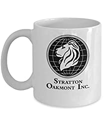Stratton Oakmont Inc Coffee Mug Cup - weiß