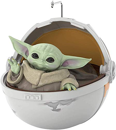 Kindlyperson Baby Yoda Figure Toys,Christmas Ornament 2020,Christmas Tree Decorations Hanging Decorations Resin Decoration for Gifts
