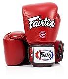 Fairtex guantes de entrenamiento de Thai Style, rojo - transpirable