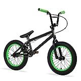 Elite BMX Series 16 inch Pee Wee Bike (Black/Green)