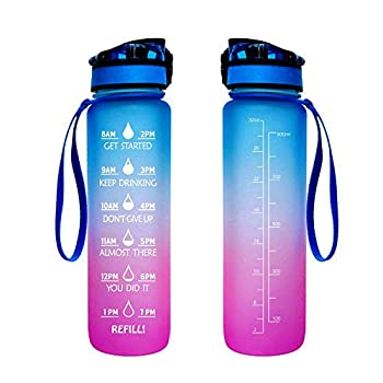 Infuser Water Bottle Sports Flip-top BPA-Free Tritan 25 Oz