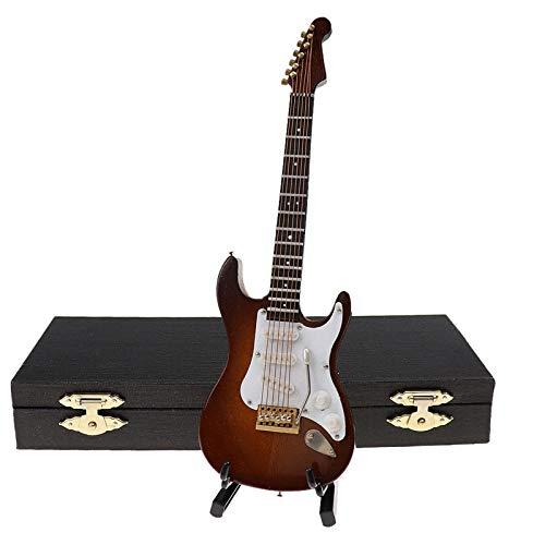 Cutogain Instrumentos musicales, regalos musicales, guitarras infantiles, guitarras réplicas decorativas en miniatura, guitarra clásica, guitarra eléctrica, modelo Holiday Ornament